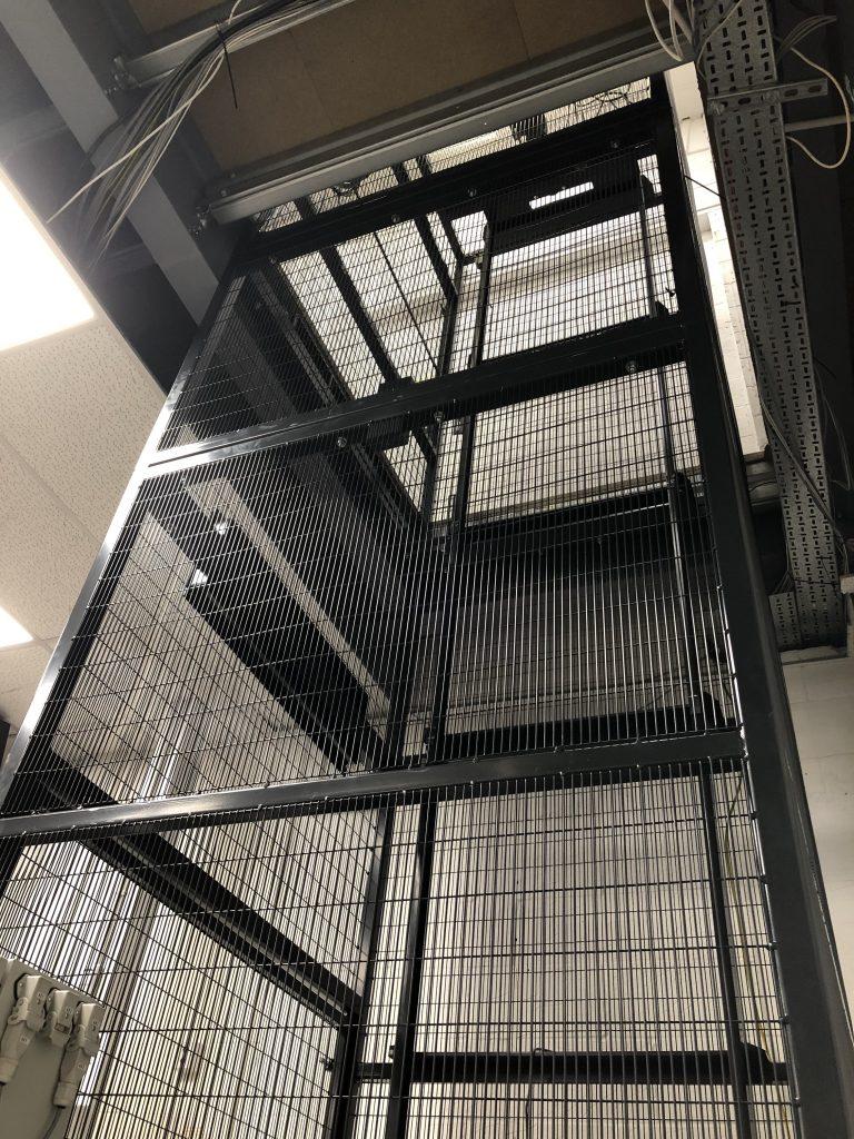 Mezzanine Goods Lift Vault