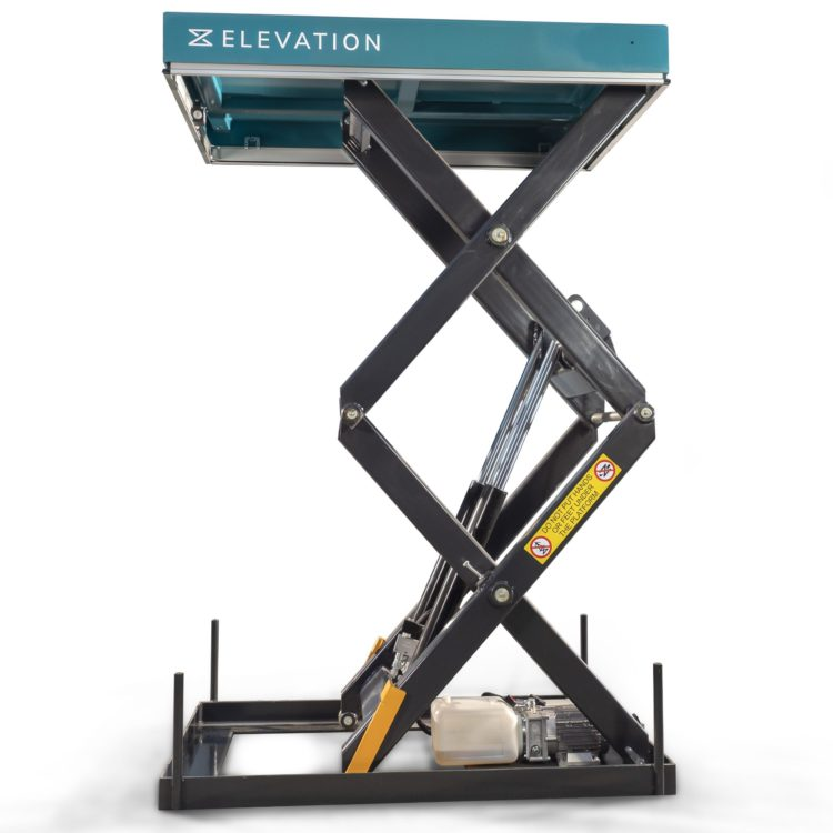 Double Scissor Lift Table – 1000kg - Image