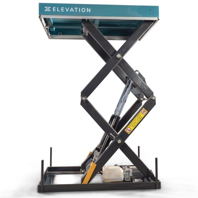 Double Scissor Lift Table – 1000kg - Image