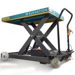 1000kg Electric Scissor Lifting Trolley