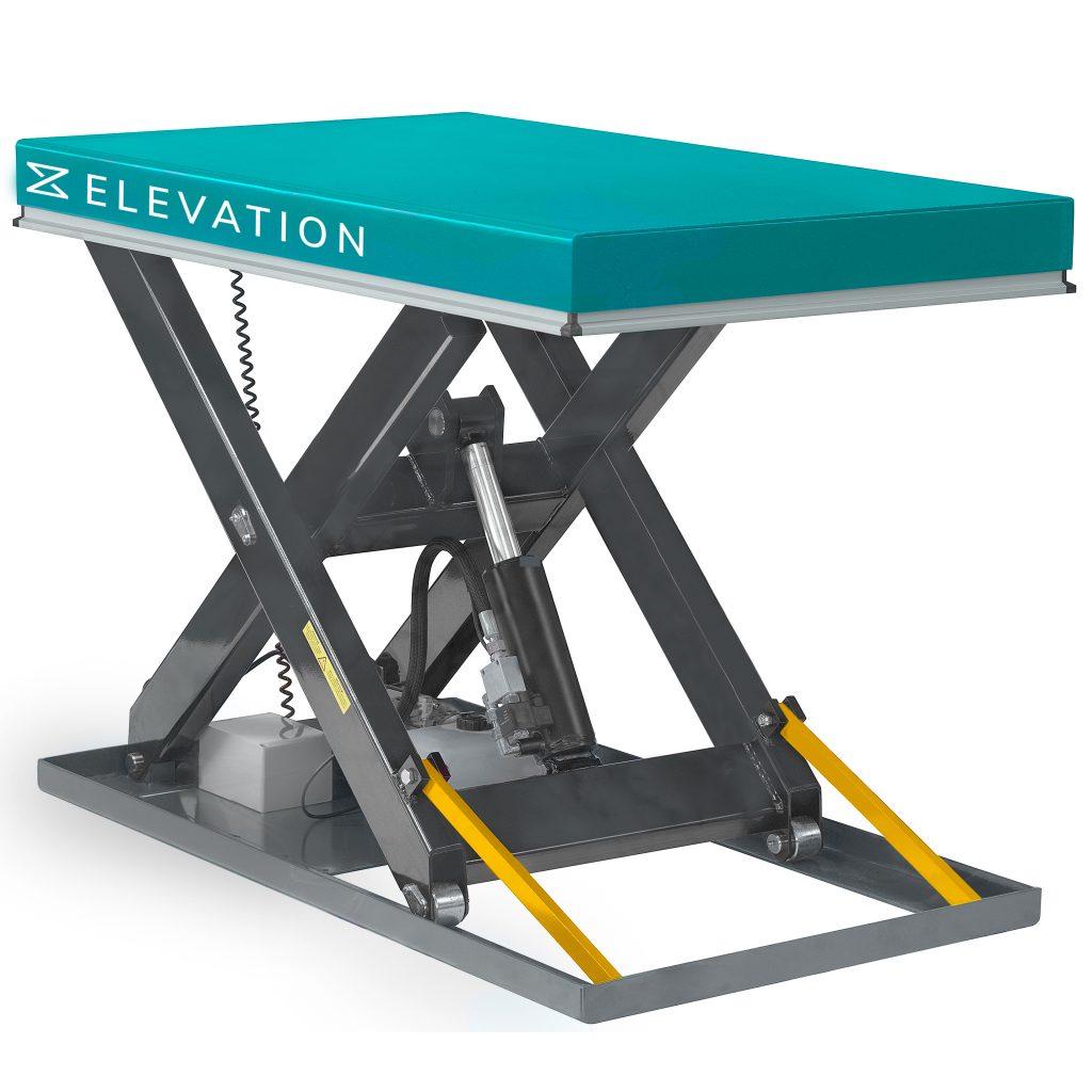 1000kg Pallet Lift Table Electric Platform
