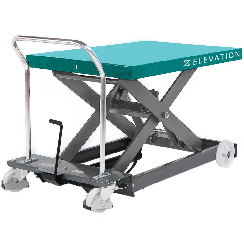 1250kg Hydraulic Mobile Scissor Lift Platform