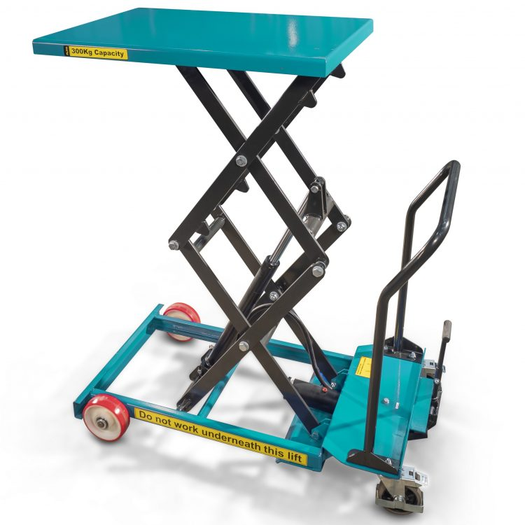 125kg Double Scissor Lift Table - Image