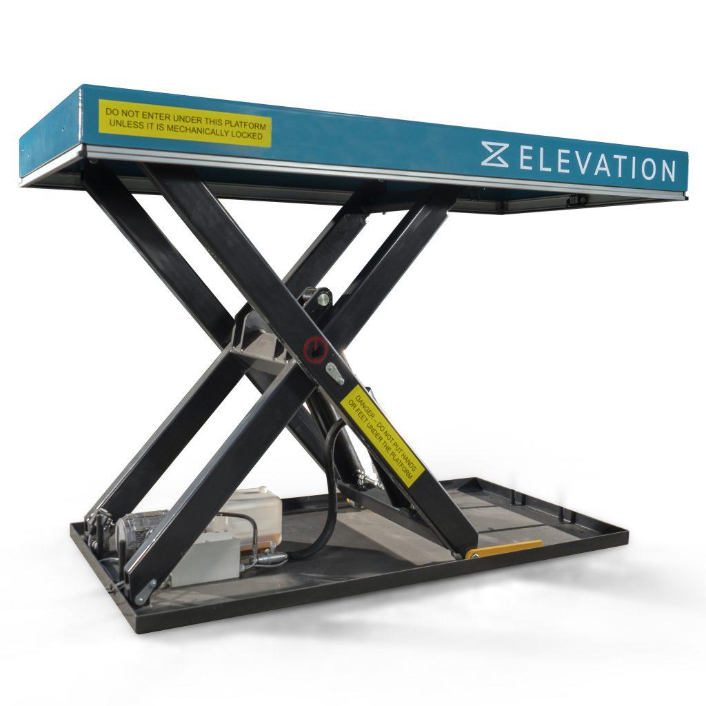 1500kg Heavy Duty Electric Static Scissor Lift Table