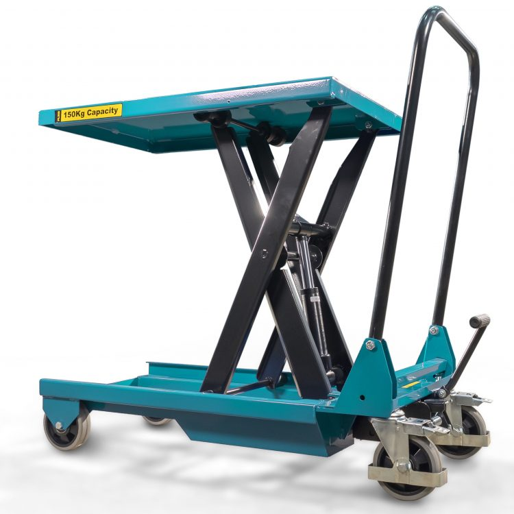 150kg Light Duty Scissor Lift Table - Image