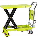 150kg Manual Scissor Lift Table LT15 Fully Raised
