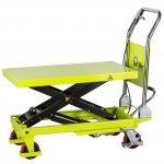 150kg Manual Scissor Lift Table LT15 Half Raised