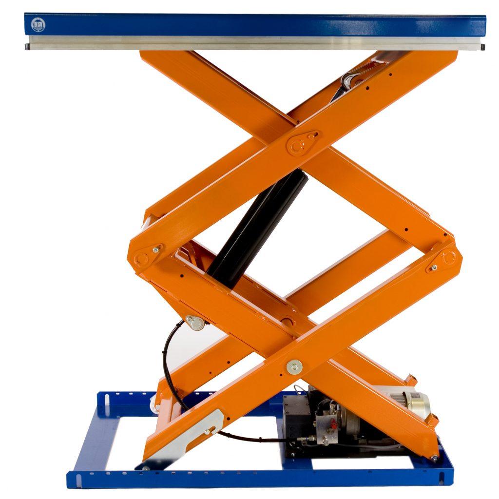 2000kg Heavy Duty Scissor Lift Platform TLD2000