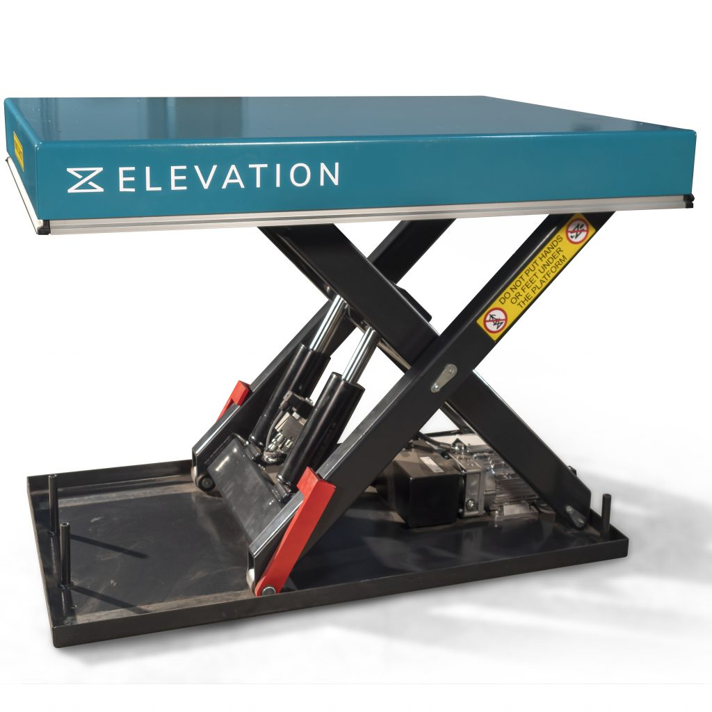 2000kg Heavy Duty Static Scissor Lift Table