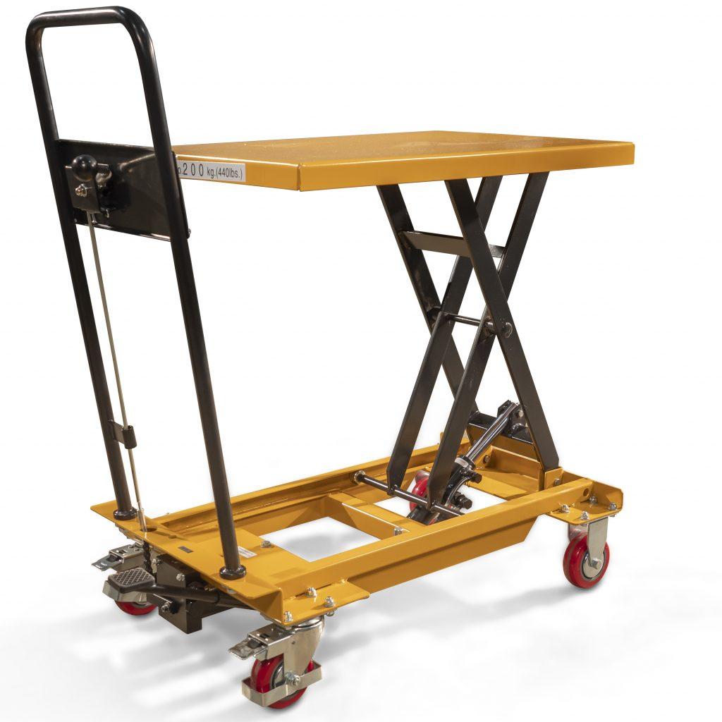 200kg Scissor Lifting Trolley