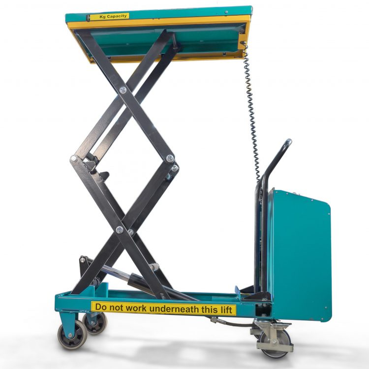 300kg Electric Portable Scissor Lift Table - Image