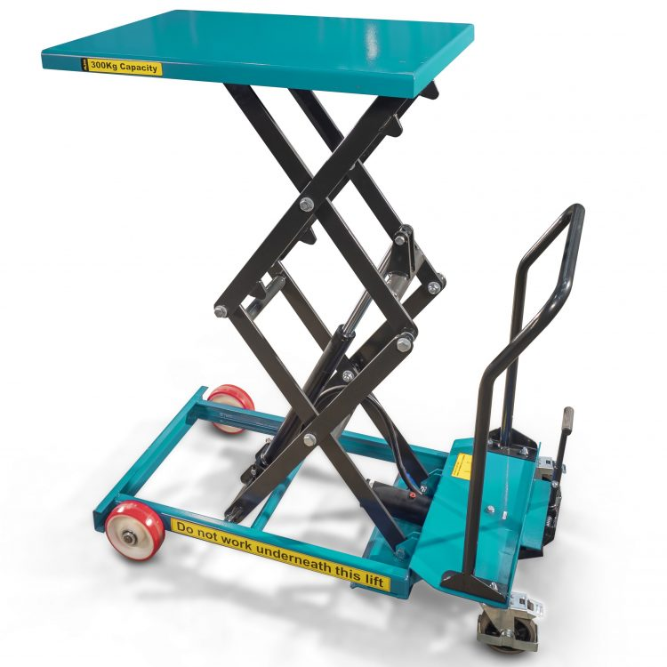 300kg Hydraulic Scissor Lift Table - Image
