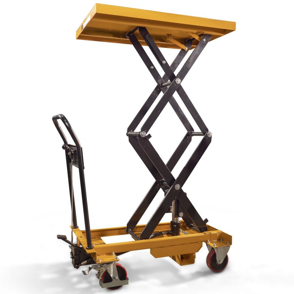 350kg Hydraulic Lifting Table Double Scissor