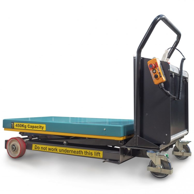 450kg Electric Mobile Scissor Lift Platform - Image