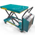 500kg Electric Scissor Lift Trolley