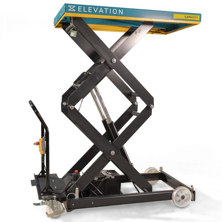 500kg Electric Mobile Lifting Platform - Image