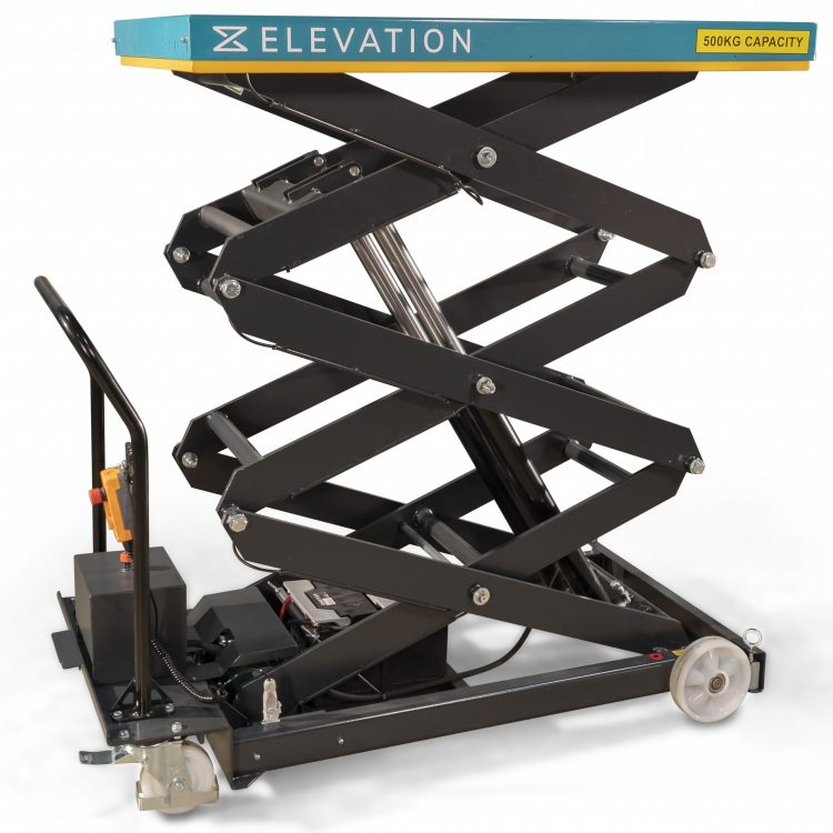 500kg Electric Scissor Lift Table - Image