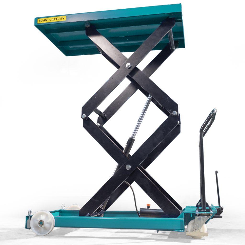 500kg Double Hydraulic Scissor Lift Table Platform