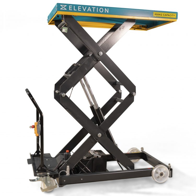 800kg Electric Double Scissor Lift Table - Image