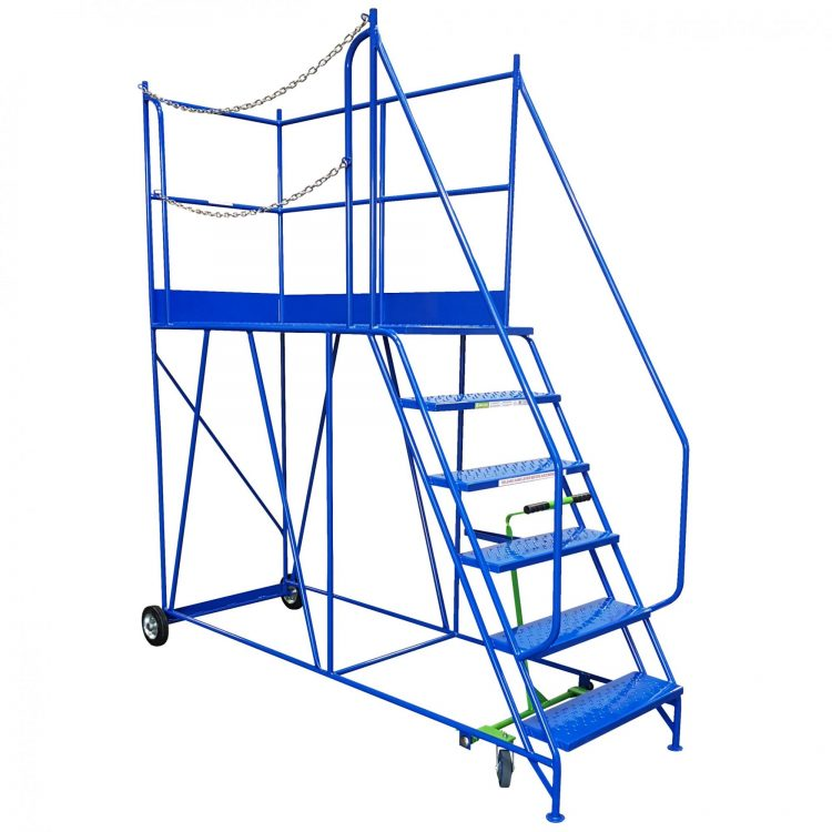 Access Platform with Steps - Image