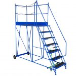 Access Platform with PVC Treads