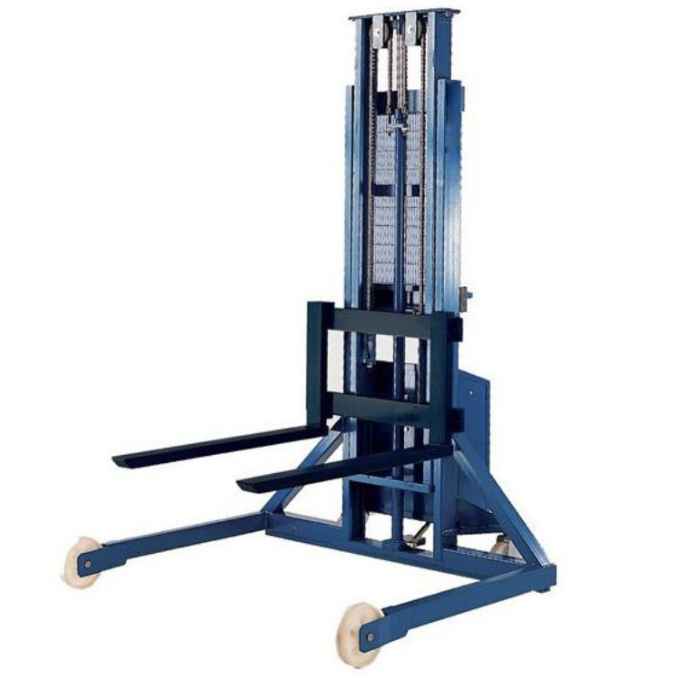 Semi Electric Straddle Stacker 1000kg - Image