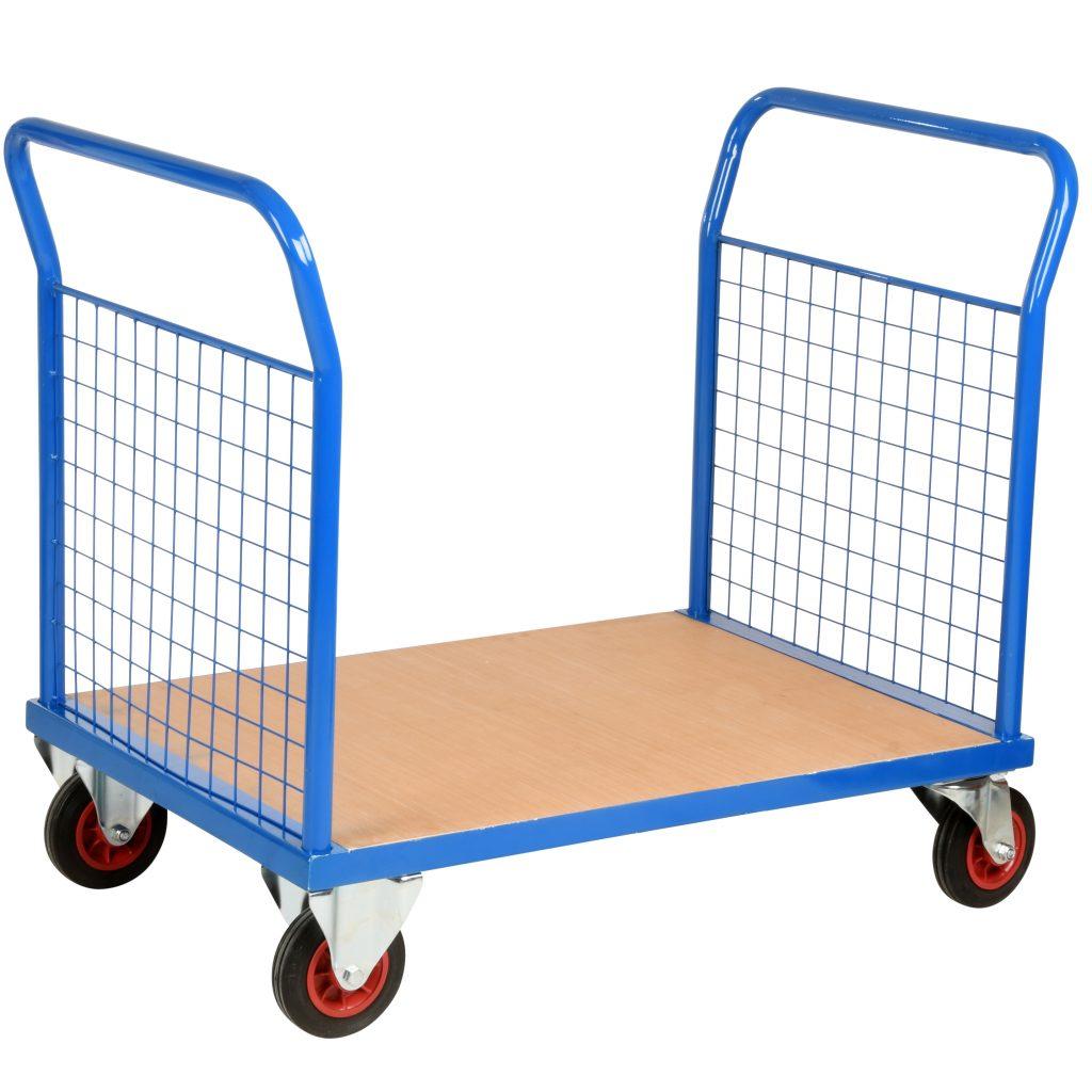 Heavy Duty Flat Bed Trolley Mesh Panels 500kg