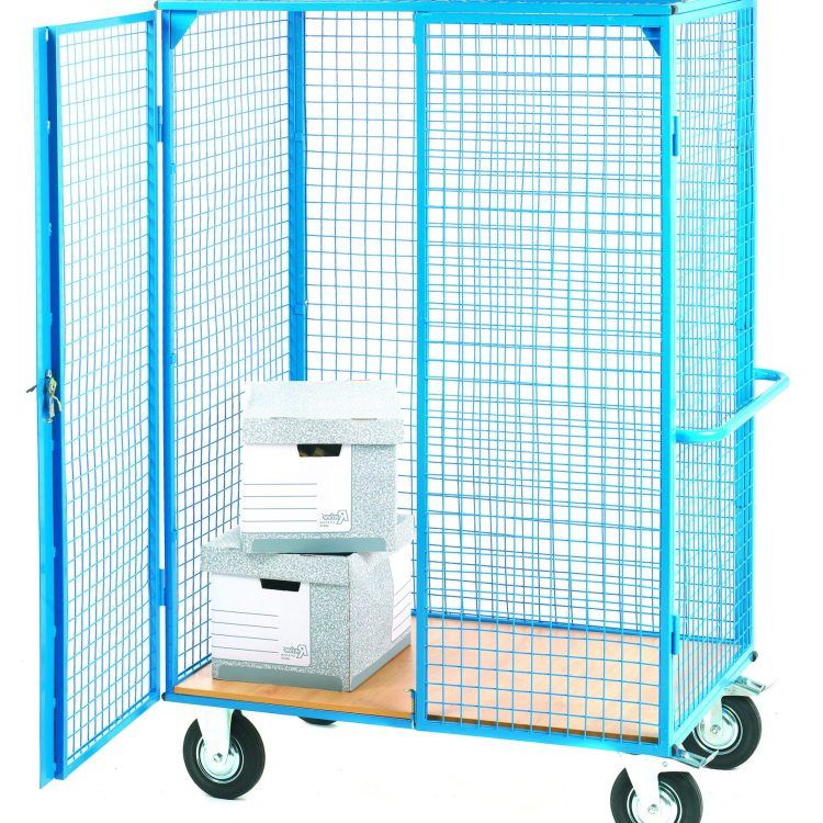 Wire Mesh Heavy Duty Parcel Trolley - Image