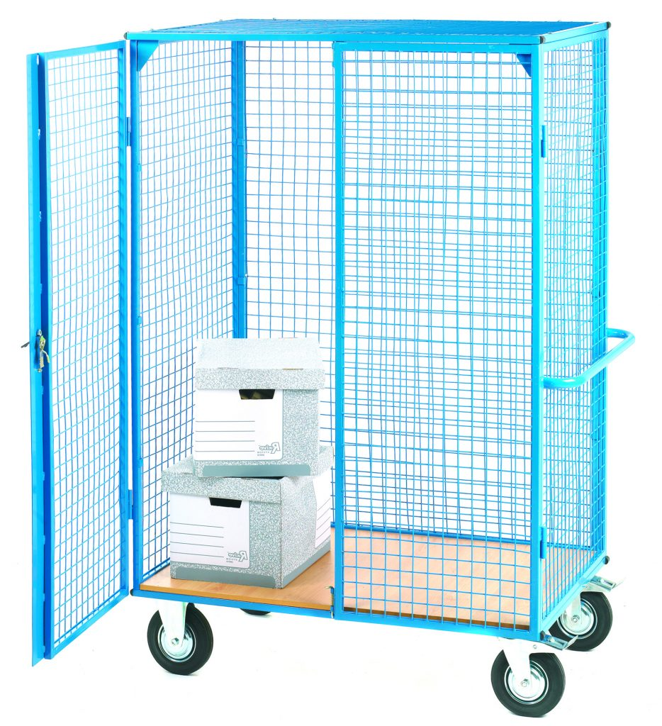 Heavy Duty Parcel Trolley Distribution Cage