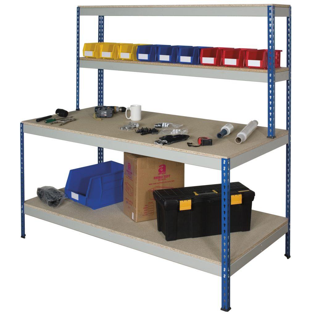 Heavy Duty Shed Workbench