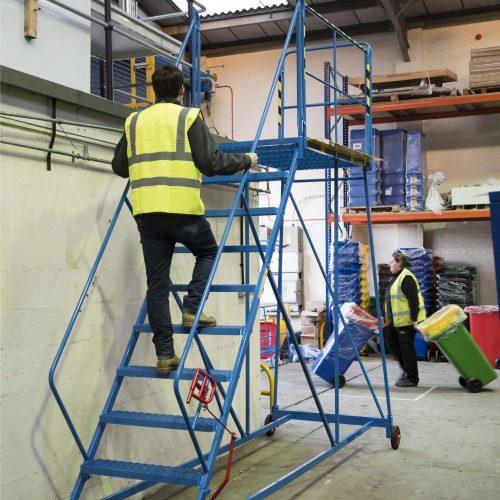 Warehouse Steps - Image