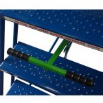 Industrial / Warehouse Rolling Stairs Central Brake