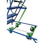 Industrial / Warehouse Rolling Stairs Double Bogey System