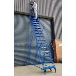 Industrial / Warehouse Rolling Stairs Maintenance