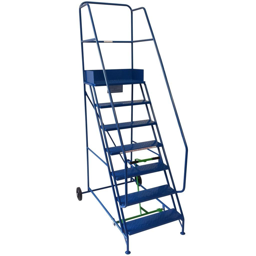 Industrial Stairs on Wheels