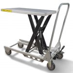 150kg Lightweight Aluminium Scissor Lift Table