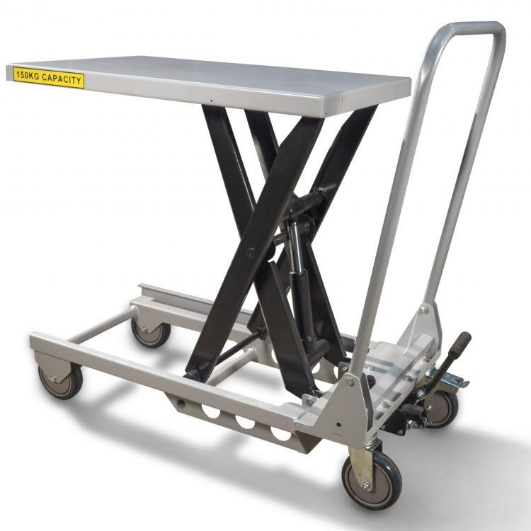 Lightweight Aluminium Scissor Lift Table - Image