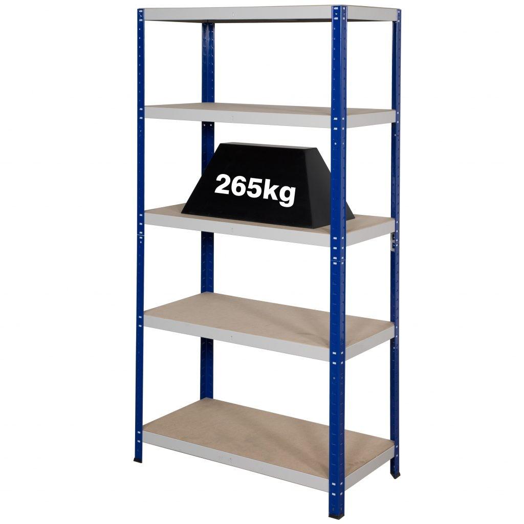 Garage Metal Shelving System Clicka 265kg