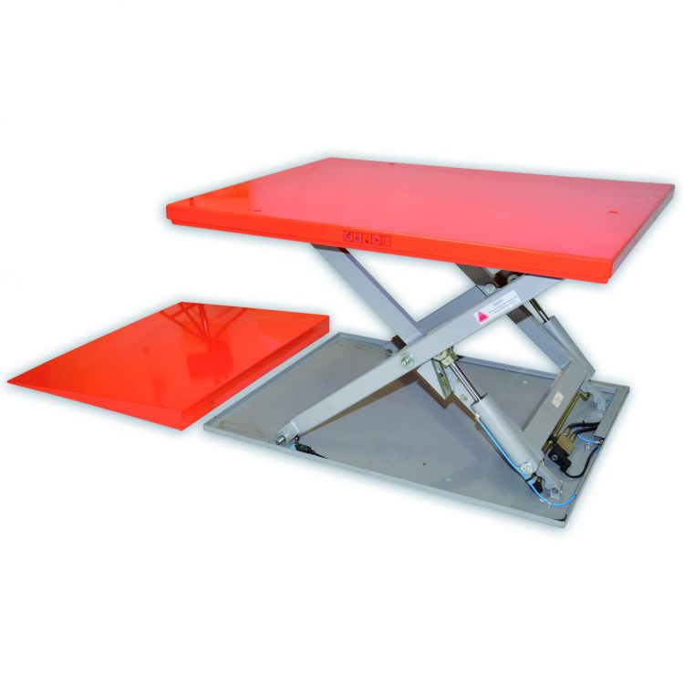Low Profile Scissor Lift Table - Image