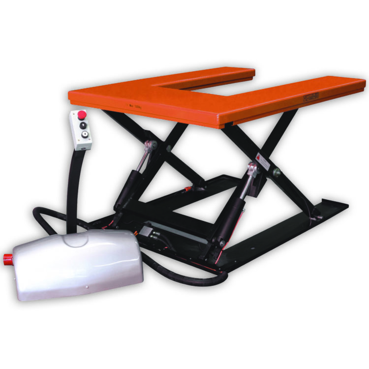 Low Profile U Shape Scissor Lift Table - Image