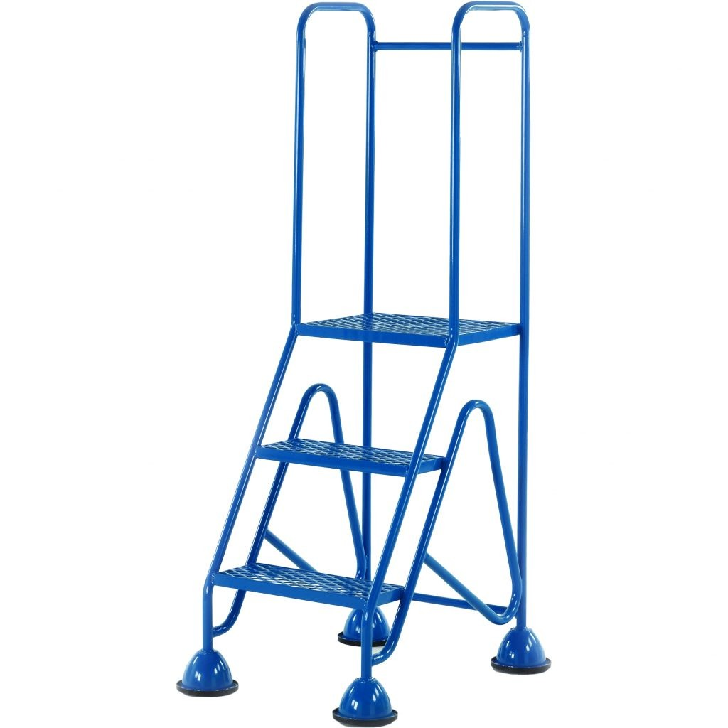 Mobile Safety Steps Portable Warehouse Steps