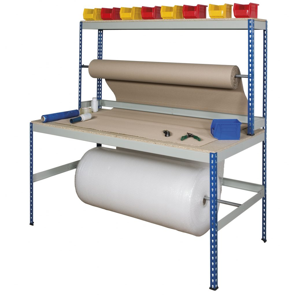 Metal Packing Bench Wide