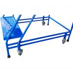 Portable Safety Steps Double Axel Bar