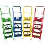 Portable Safety Steps Colour Range