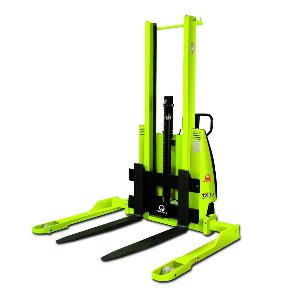 Semi Electric Straddle Pallet Stacker Pramac 1000kg TX Series