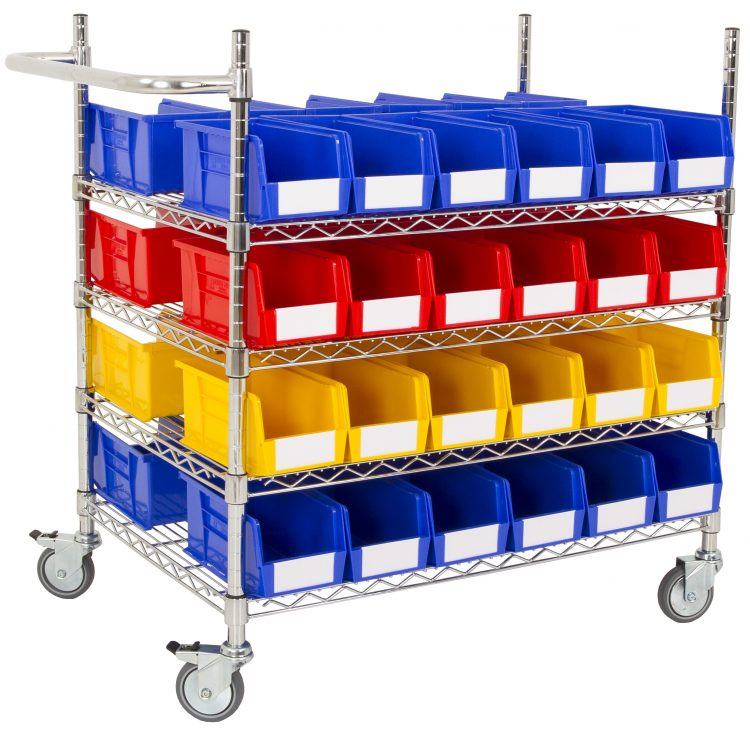 Picking Trolley with Bins - Image