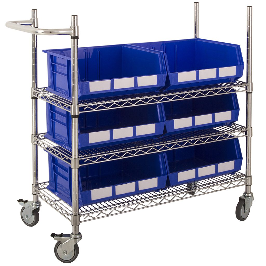 Picking Trolley with Large Bins