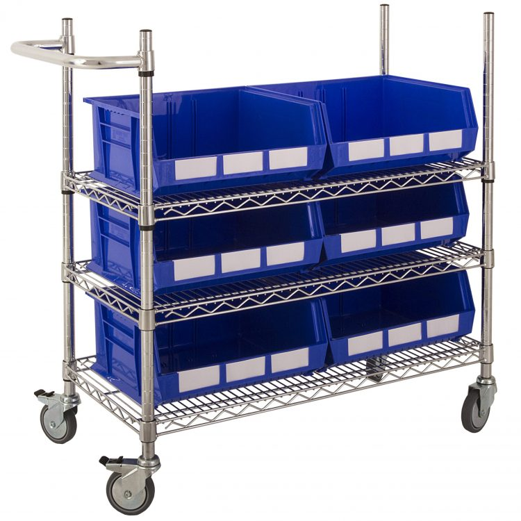 Picking Trolley with Large Bins - Image