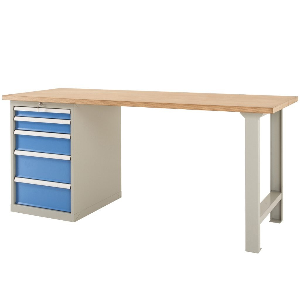 Heavy Duty Workbench with Drawers