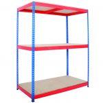 Industrial Warehouse Storage Shelves 3 Tier